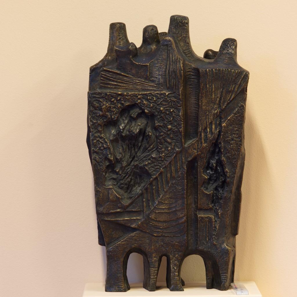 Stojan Batič - kip 2 (steklena dvorana)
